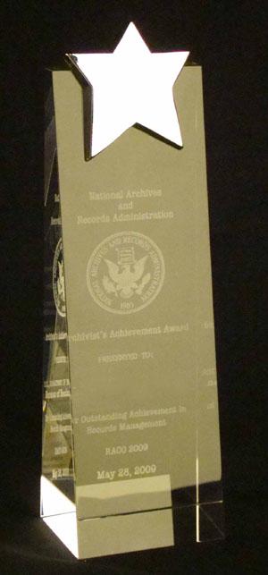 Archivist Achievement Awards